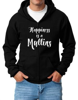Happiness is a Mullins Zip Hoodie - Mens