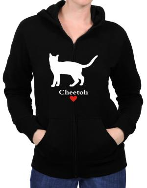 Cheetoh love Zip Hoodie - Womens