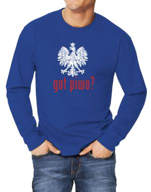 Got Piwo? Long-sleeve T-Shirt