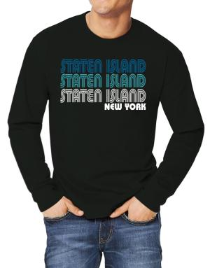 Staten Island State Long-sleeve T-Shirt