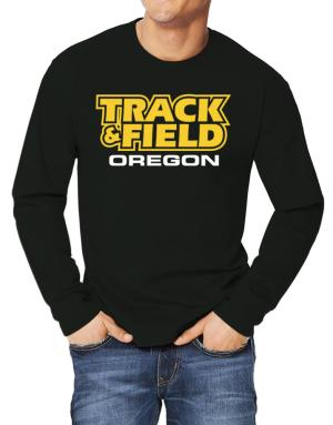 Track And Field - Oregon Long-sleeve T-Shirt