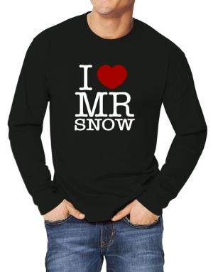 Polo Manga Larga de I Love Mr Snow