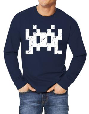 Space invaders retro Long-sleeve T-Shirt