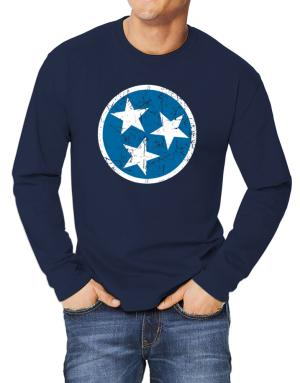 Tennessee Flag Long-sleeve T-Shirt