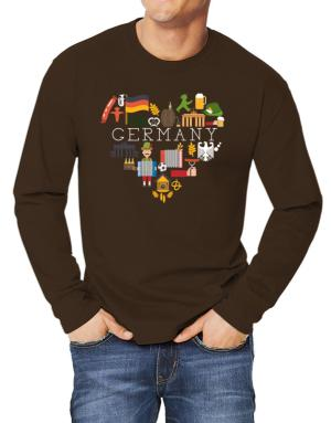 I love Germany Long-sleeve T-Shirt