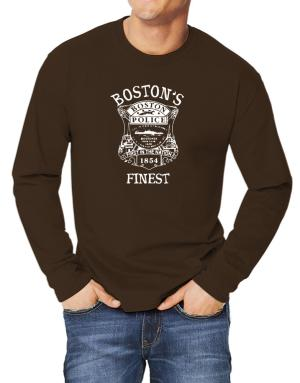 Camisetas Manga Larga de Boston