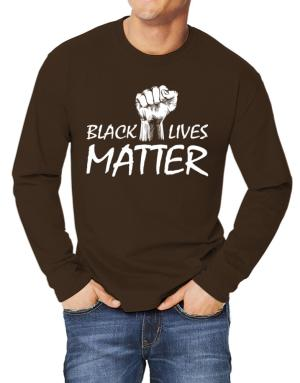 Polo Manga Larga de Black lives matter