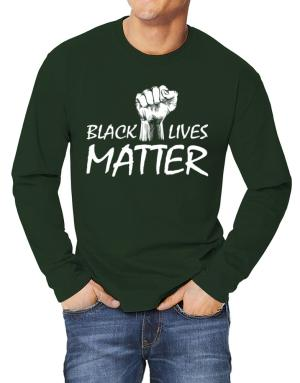 Camisetas Manga Larga de Black lives matter