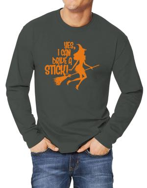 Yes, I Can Drive A Stick! Long-sleeve T-Shirt