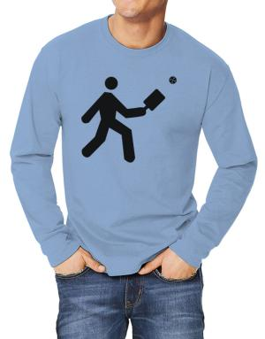 Pickleball Stickman Long-sleeve T-Shirt