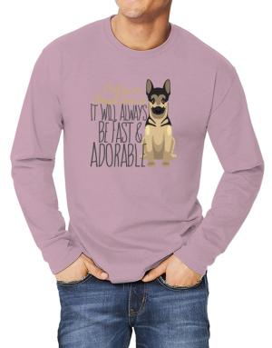 It will always be fast & adorable Belgian malinois Long-sleeve T-Shirt