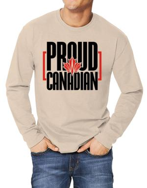 Canada proud Canadian Long-sleeve T-Shirt