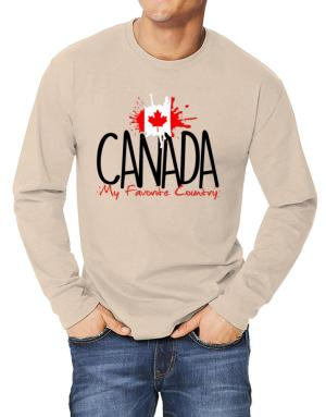 Polo Manga Larga de Canada my favorite country