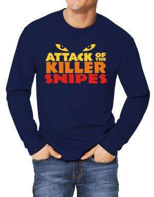 Attack Of The Killer Snipes Long-sleeve T-Shirt