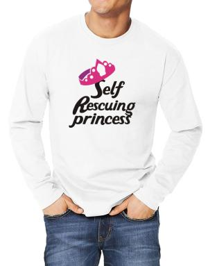 Self Rescuing Princess Long-sleeve T-Shirt