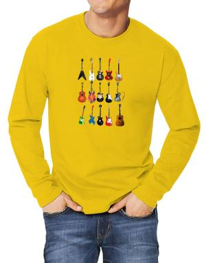 Guitar Players Are Well Strung Long-sleeve T-Shirt