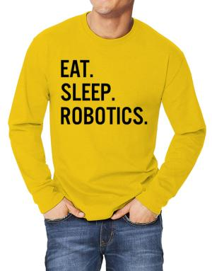 Polo Manga Larga de Eat sleep robotics