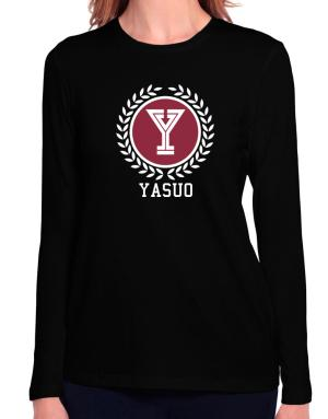 Yasuo - Laurel Long Sleeve T-Shirt-Womens