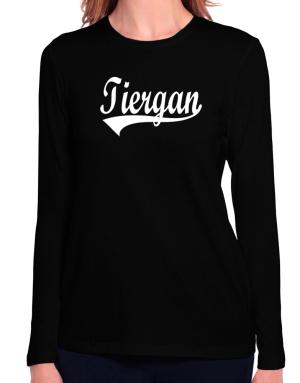 Tiergan Long Sleeve T-Shirt-Womens