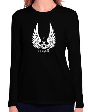 Dolan - Wings Long Sleeve T-Shirt-Womens