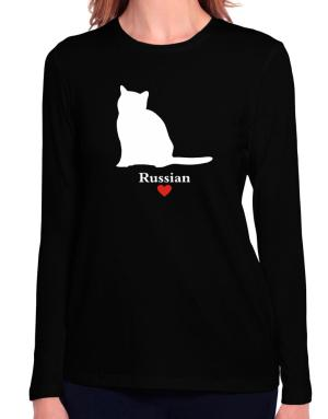 Russian love Long Sleeve T-Shirt-Womens