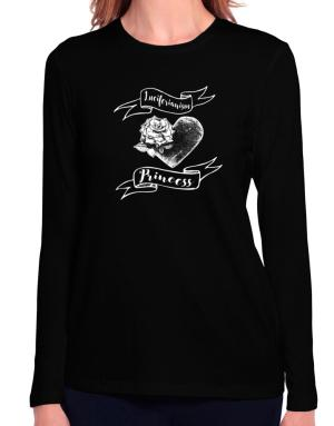 Luciferianism princess Long Sleeve T-Shirt-Womens