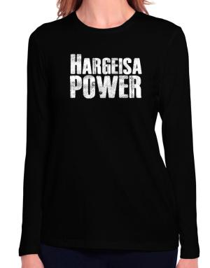 Hargeisa power Long Sleeve T-Shirt-Womens