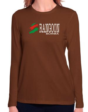 Brush Rangoon Long Sleeve T-Shirt-Womens