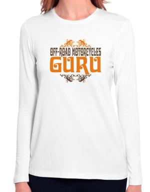 Off Road Motorcycles Guru Long Sleeve T-Shirt-Womens