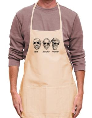 Socrates Old Funny Philosophy Apron