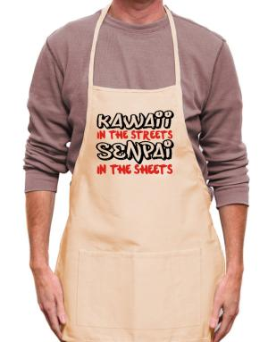 Kawaii in the streets senpai in the sheets Apron