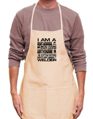 I am a welder Apron