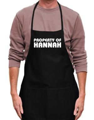 Property Of Hannah Apron