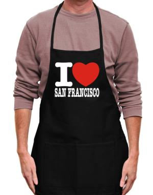 I Love San Francisco Apron