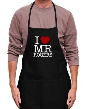 Mandil de I Love Mr Rogers