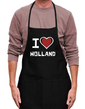 Mandil de I Love Holland