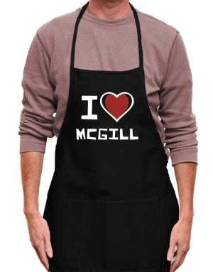 Mandil de I Love Mcgill