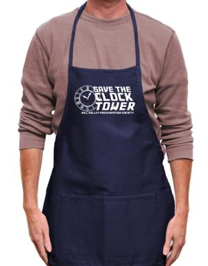 Save the clock tower Apron