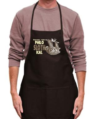 Philosophical Sloth Apron