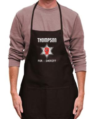 Thompson for Sheriff Apron