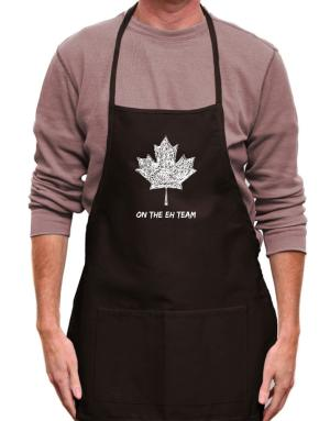 Canada on The Eh Team Apron