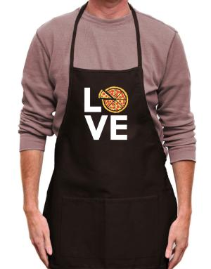 Love pizza Apron