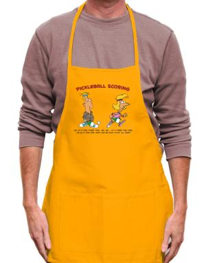 Pickleball Scoring Apron