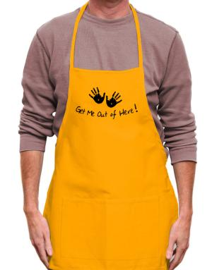 Get Me Out of Here Apron