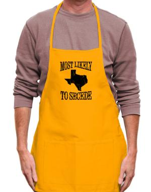 Most Likely to Secede Apron