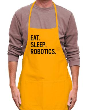 Mandil de Eat sleep robotics
