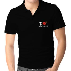 I love to stake vampires Polo Shirt