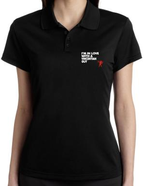 I Am In Love With A Vincentian Guy Polo Shirt-Womens