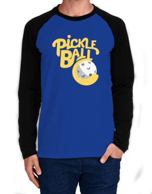 Raglan Manga Larga de Pickleball