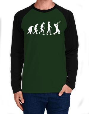 Trombone Evolution Long-sleeve Raglan T-Shirt